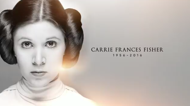 Star Wars Celebration: ecco il toccante video alla memoria di Carrie Fisher