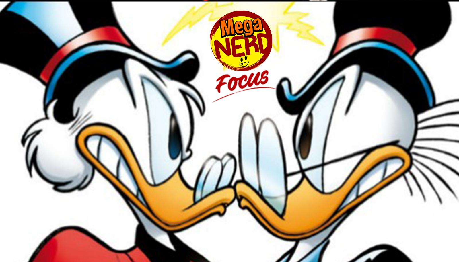 Rockerduck: il mangia bombette rivale di Paperon de' Paperoni