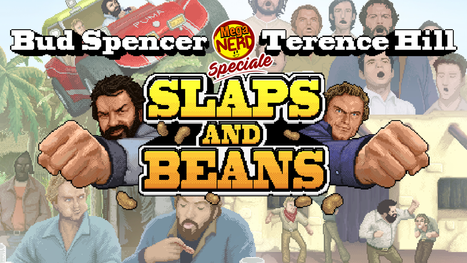 Ecco Slaps and Beans, il videogioco dedicato a Bud Spencer & Terence Hill