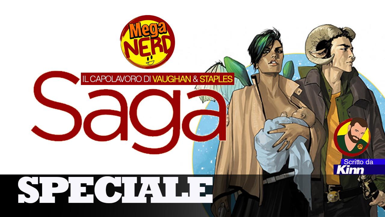 Saga: un capolavoro firmato Brian K. Vaughan e Fiona Staples
