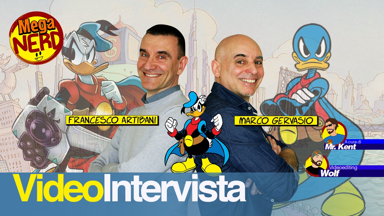Francesco Artibani e Marco Gervasio: «Tanti auguri, Paperinik!»