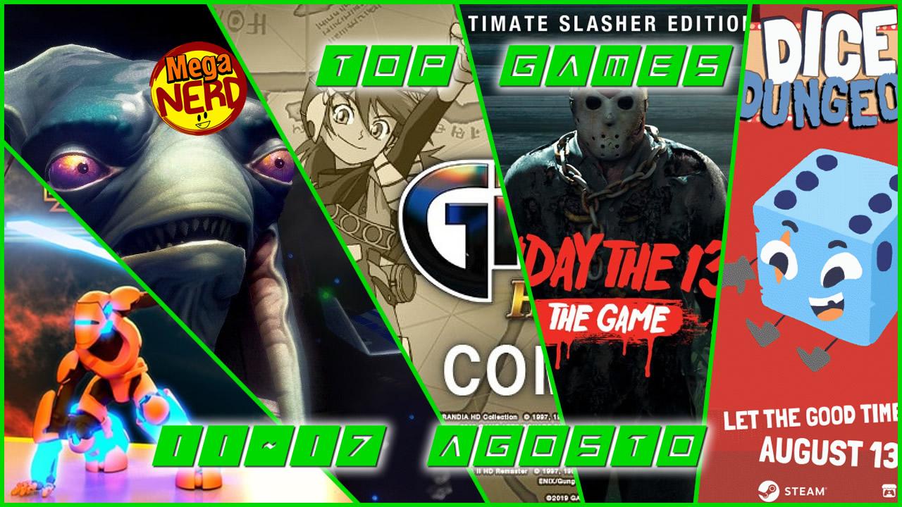 TOP Videogiochi in uscita questa settimana