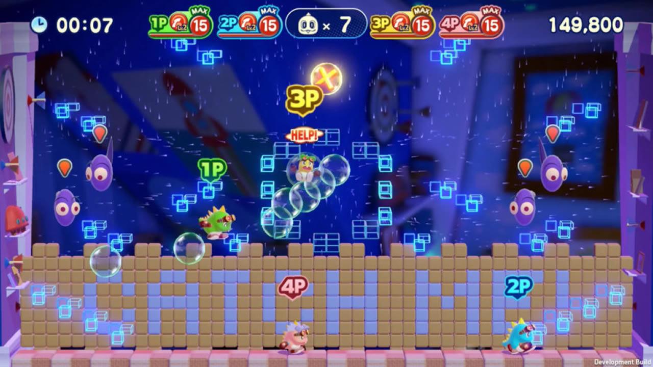 Bubble Bobble su Nintendo Switch