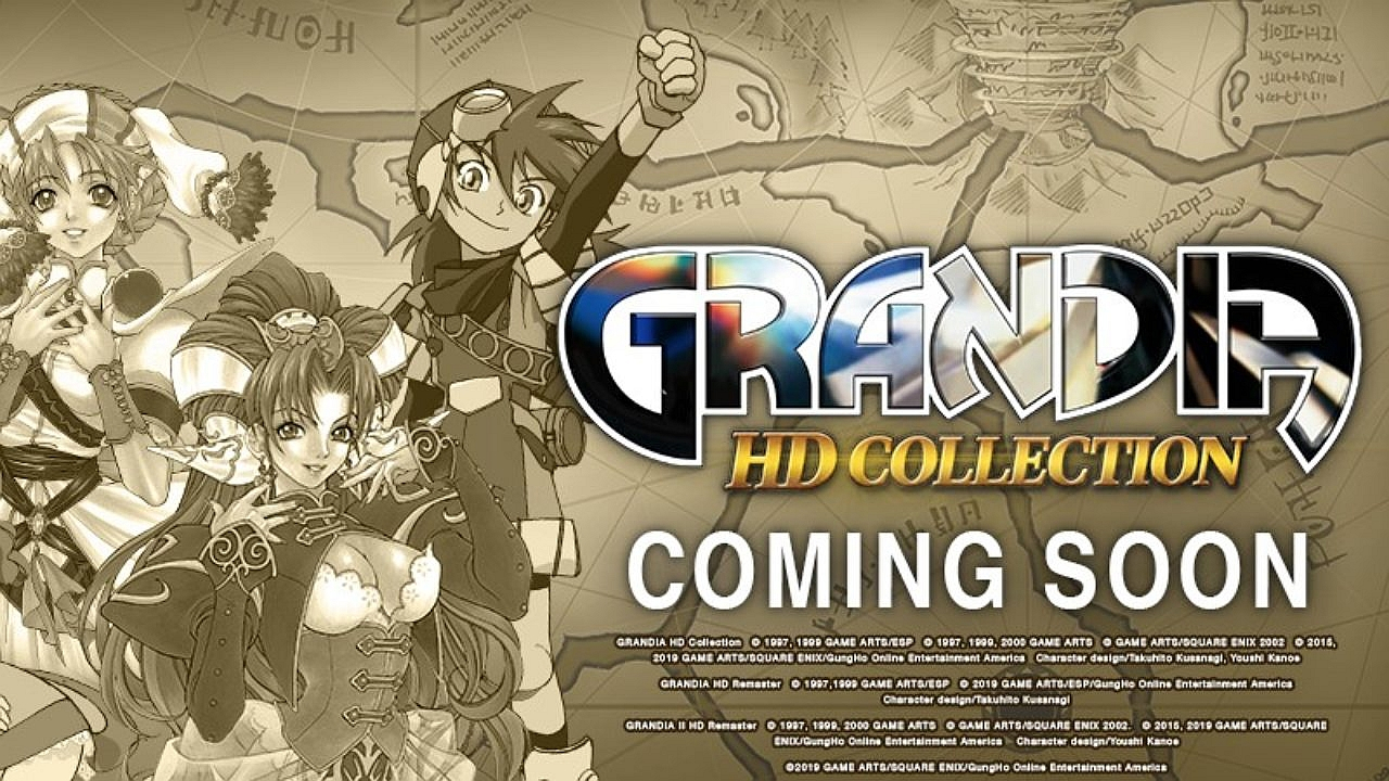 Grandia HD collection arriva su Nintendo Switch