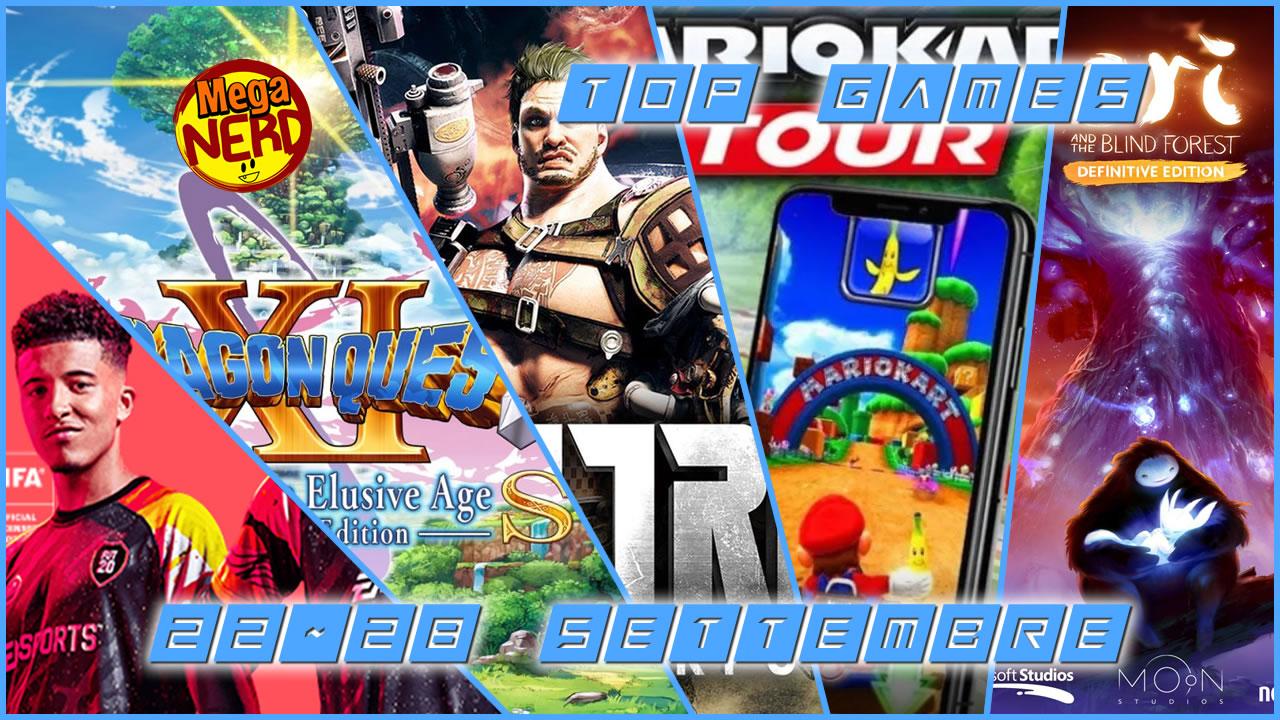 TOP Videogiochi in uscita questa settimana 22-28 Settembre