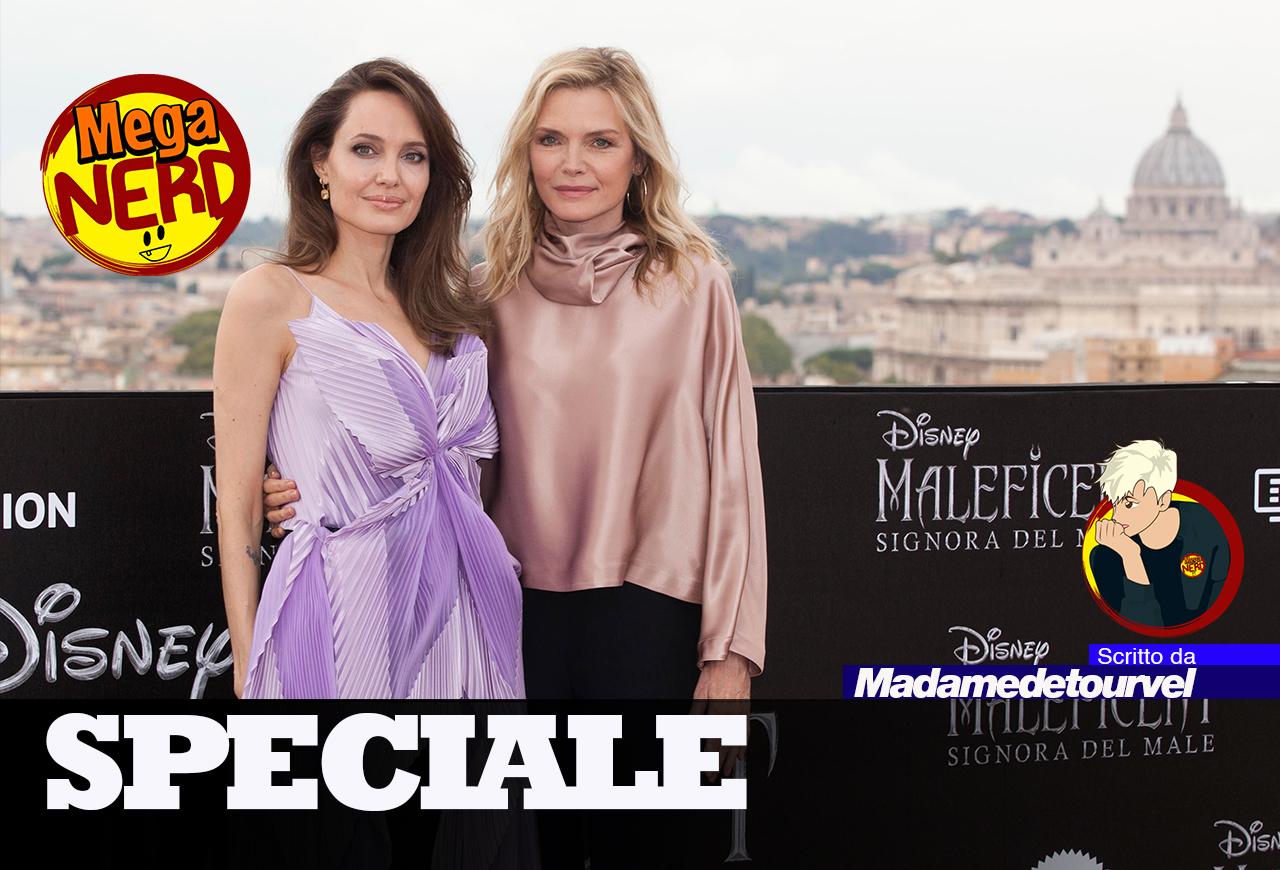 Angelina Jolie e Michelle Pfeiffer illuminano il cielo di Roma
