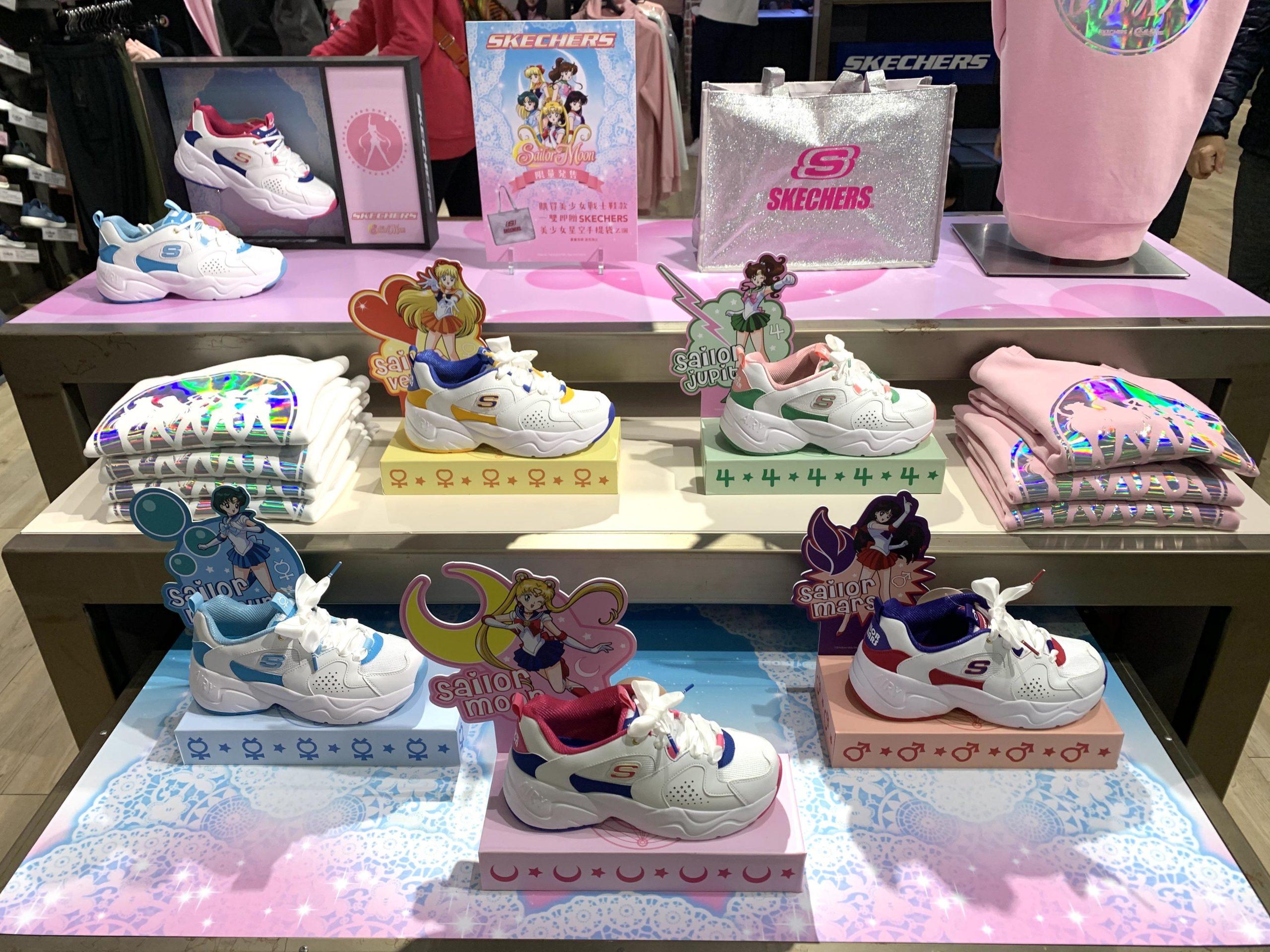 Sailor Moon – Arrivano le sneaker dedicate alle guerriere sailor