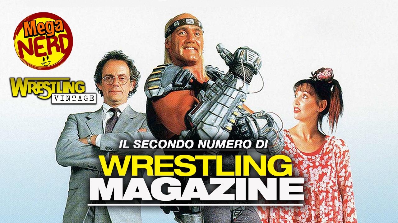 Il secondo numero di Wrestling Magazine
