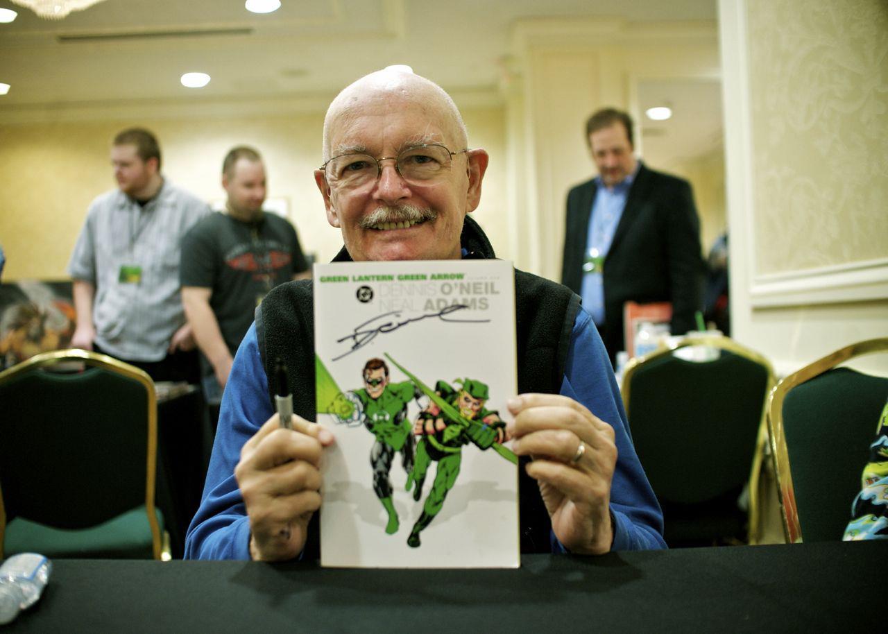 È morto Dennis O'Neil, leggendario scrittore di Batman e Green Lantern/Green Arrow