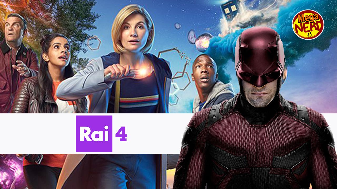 Doctor Who e Daredevil sbarcano su Rai 4