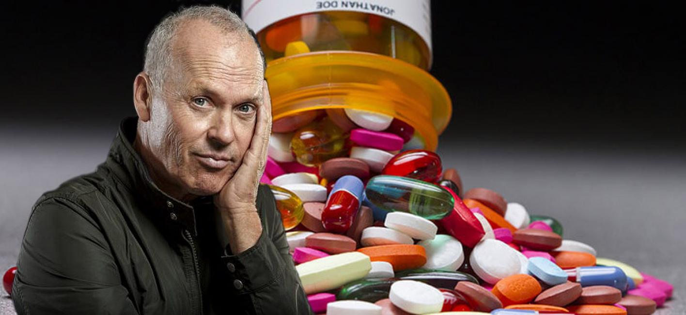 Michael Keaton protagonista di una serie sulla dipendenza da oppiacei
