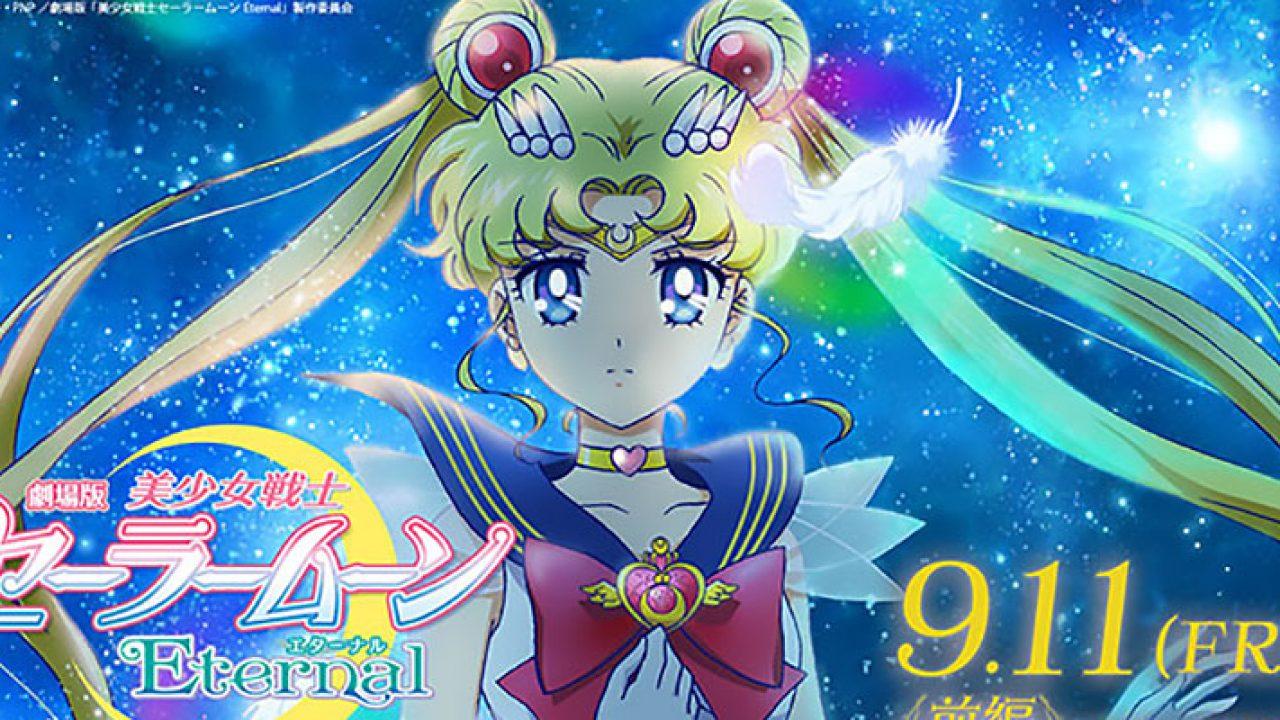Super Sailor Moon e Super Sailor Chibi Moon – ecco le trasformazioni delle due eroine