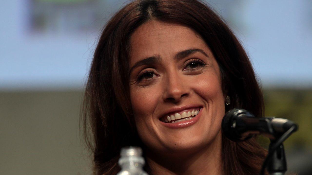 """Salma Hayek – Nuovo look per le nuove riprese di """"The Eternals""""?"""