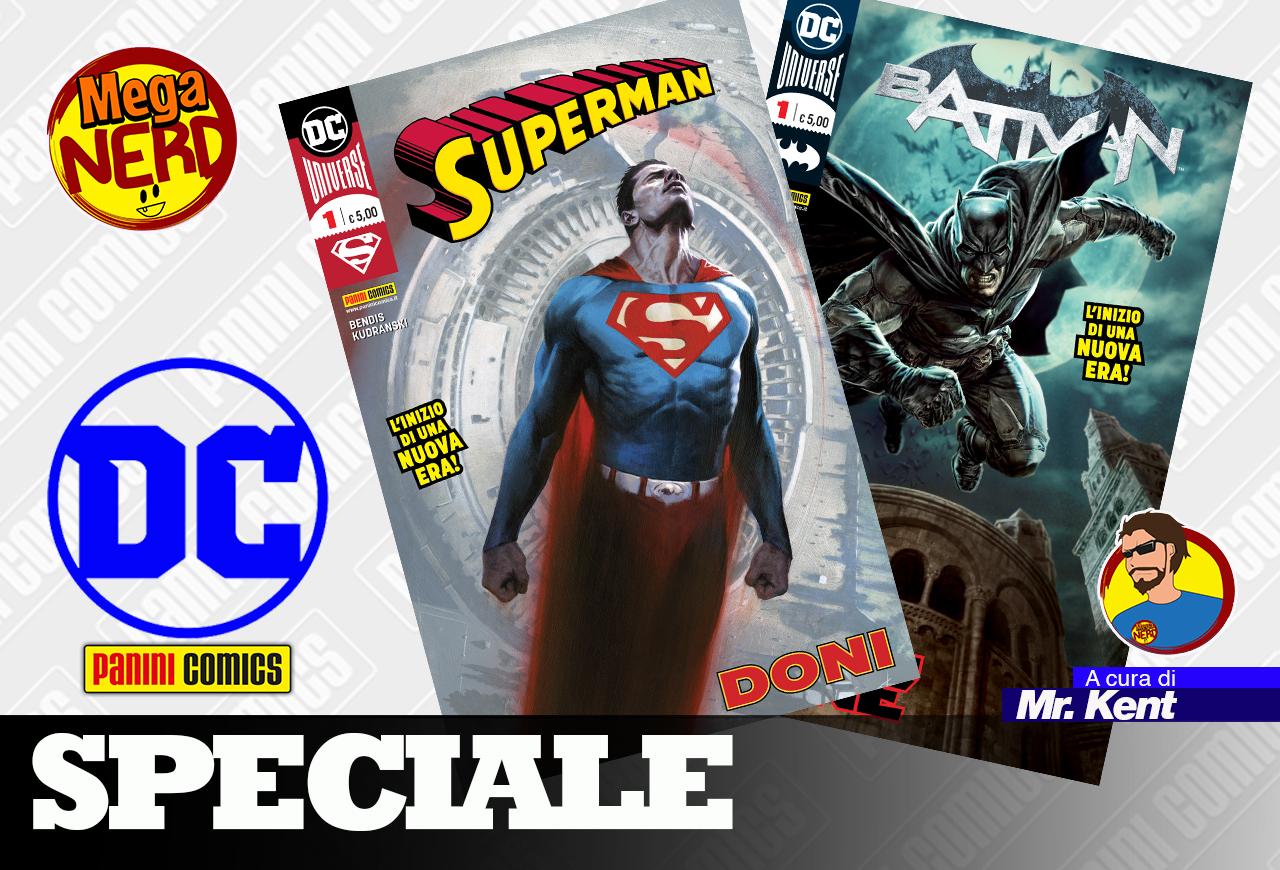 DC Comics – Come sono i primi albi Panini
