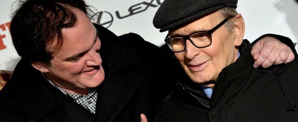 Tarantino piange Morricone: «Il Re è morto, lunga vita al Re!»