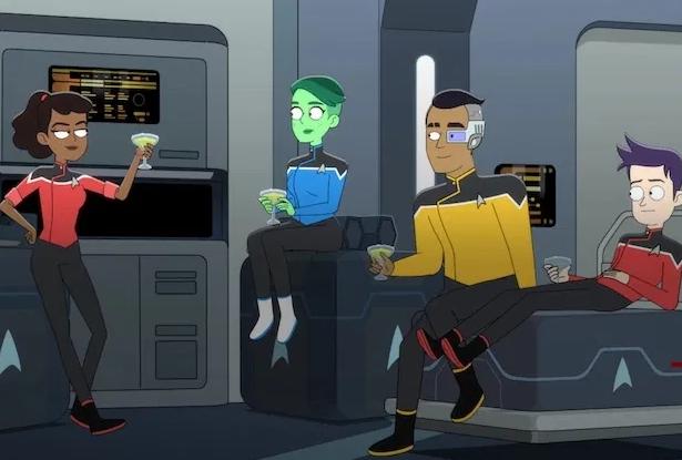 Star Trek: Lower Decks – Data di debutto e prime immagini della serie animata