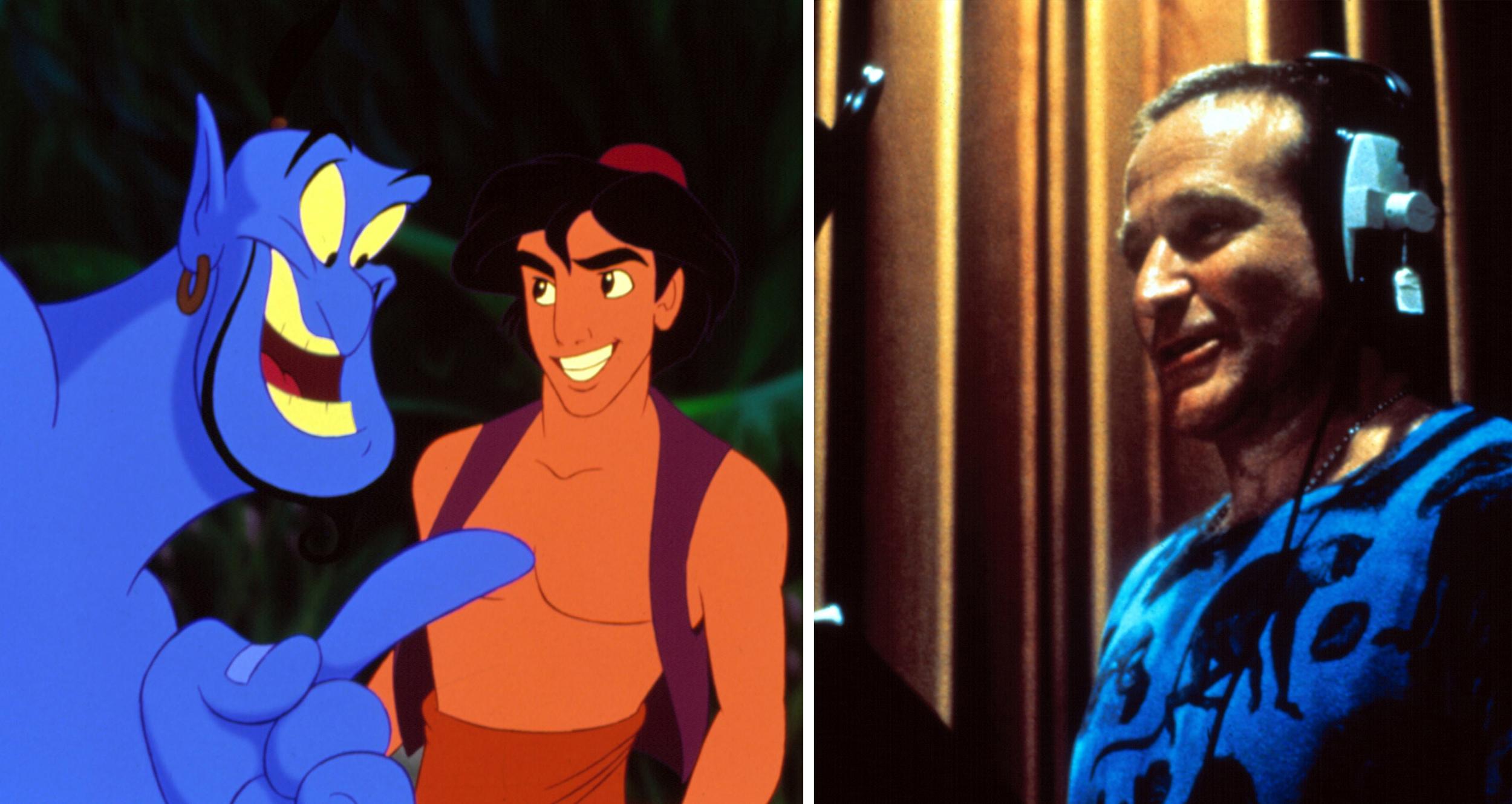 Aladdin – Ecco come Robin Williams è diventato il Genio