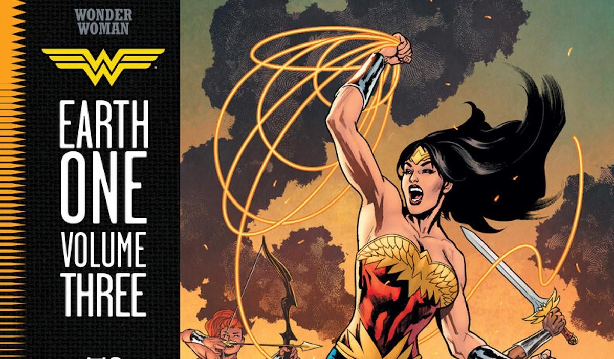 Con Wonder Woman Terra Uno vol. 3 Grant Morrison saluta DC Comics