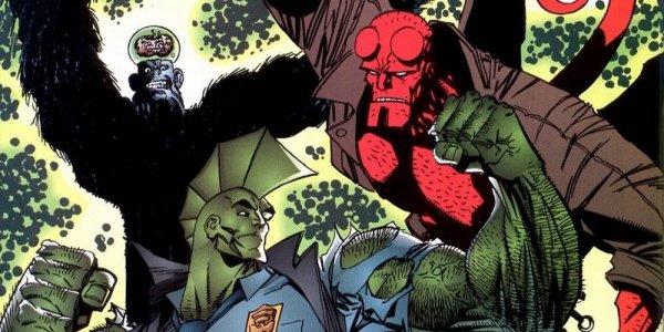 Hellboy e Savage Dragon si schierano in vista delle elezioni USA