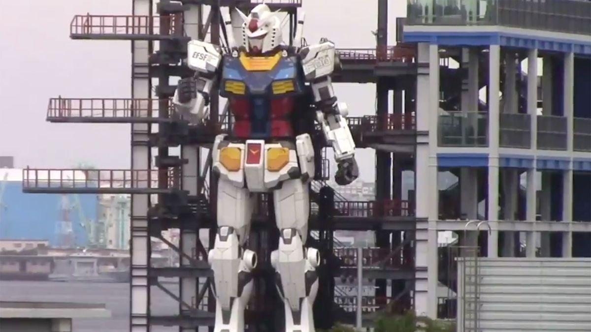 Mobile Suit Gundam – Ecco i primi veri passi dell'enorme robot