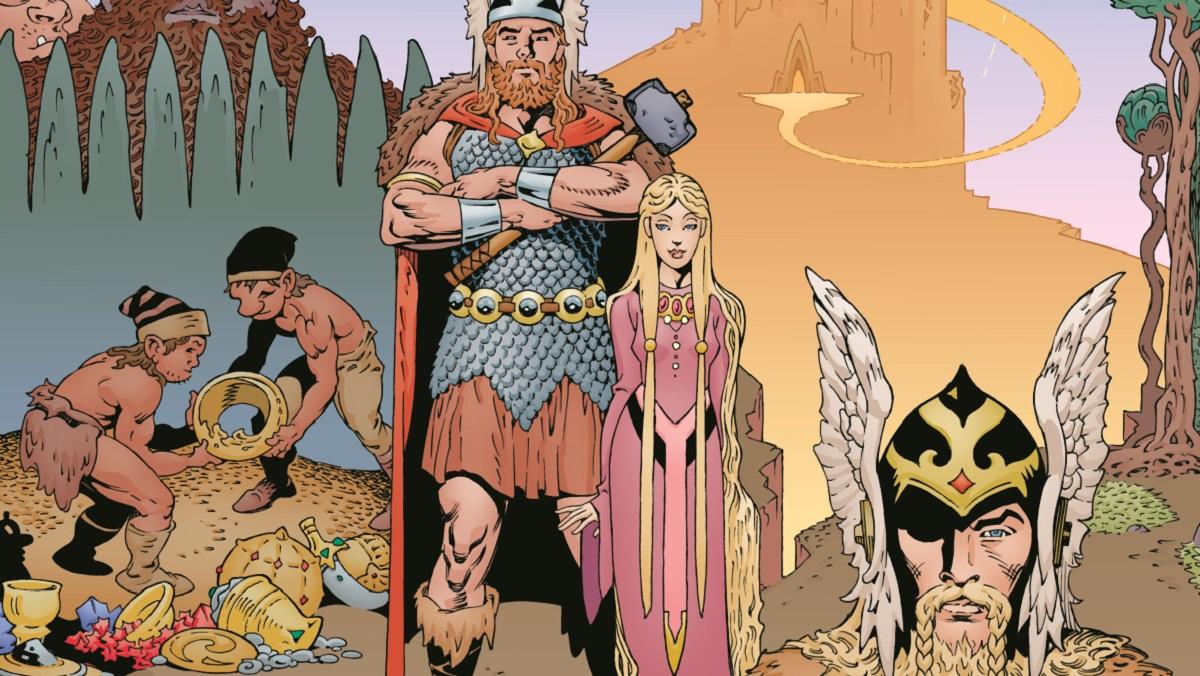 Norse Mythology – Le prime tavole dell'adattamento di Mike Mignola