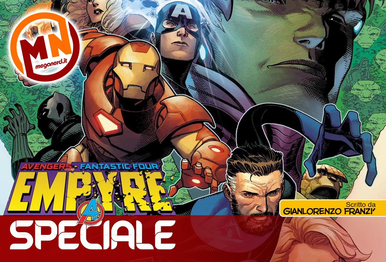 Empyre arriva anche in Italia: è subito guerra nel Marvel Universe