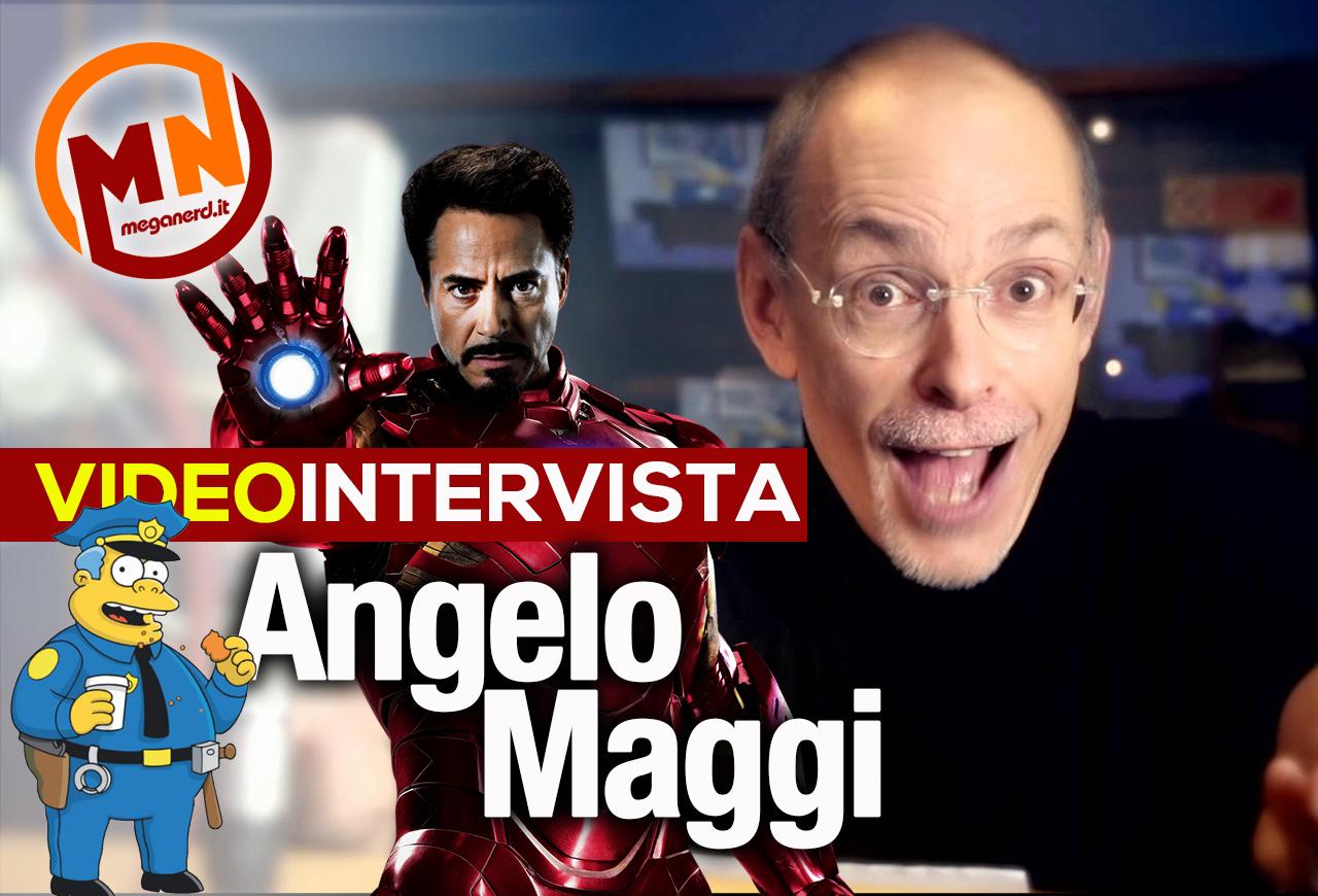 Angelo Maggi – Quattro chiacchiere con la voce di Iron Man (e non solo…)