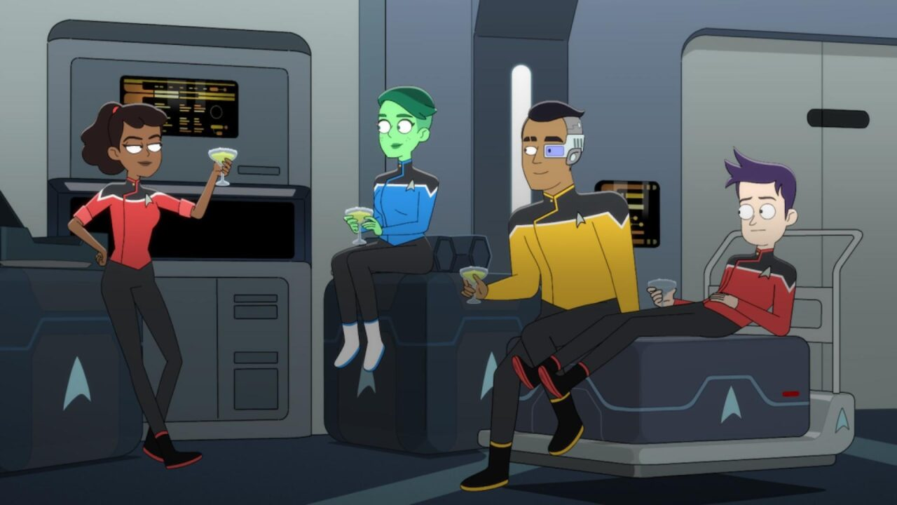 Star Trek: Lower Decks – Il trailer della nuova serie comedy di Amazon