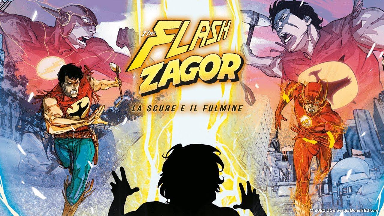 Zagor/Flash – Bonelli rilascia il trailer del crossover