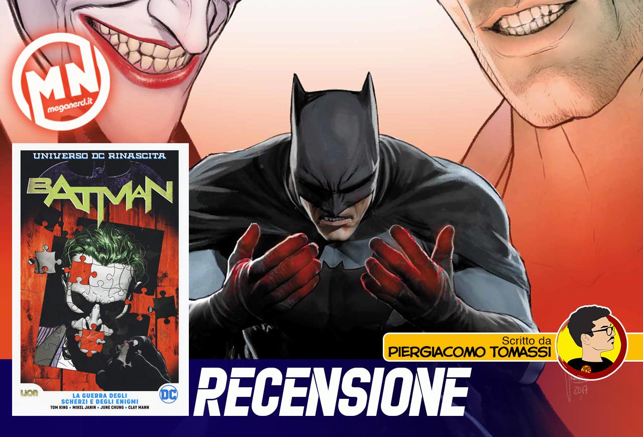 Batman – La guerra degli scherzi e degli enigmi