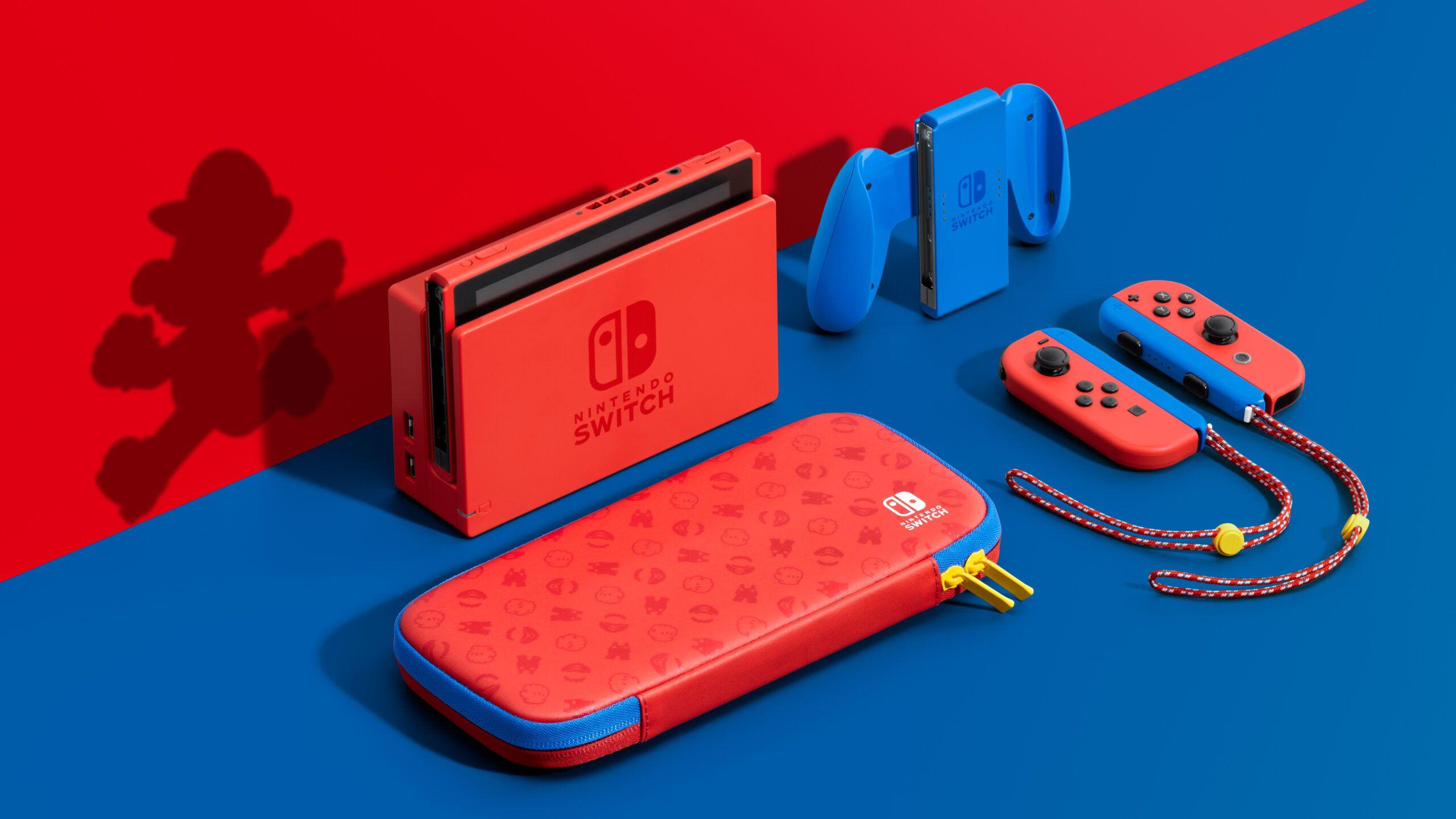 Nintendo Switch – Arriva la Mario Red and Blue Edition