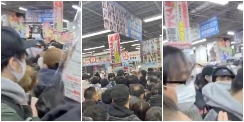 PlayStation 5 – Restock a Tokyo, folle assaltano Akihabara