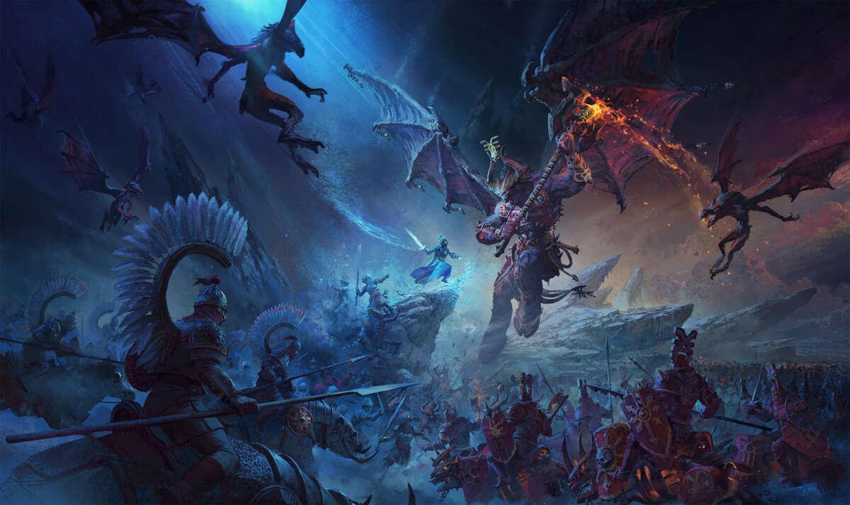 Total War: Warhammer 3 è realtà, ecco il trailer ufficiale