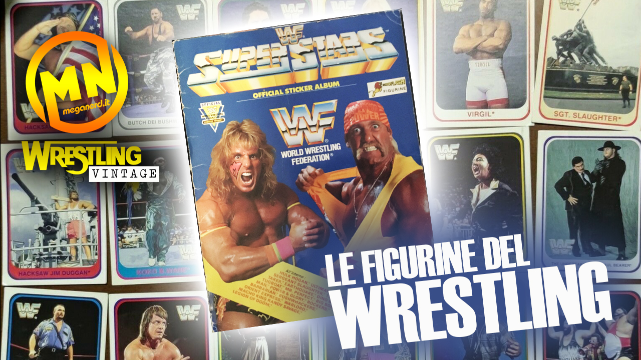 WWF Official Sticker Album – Le figurine del Wrestling