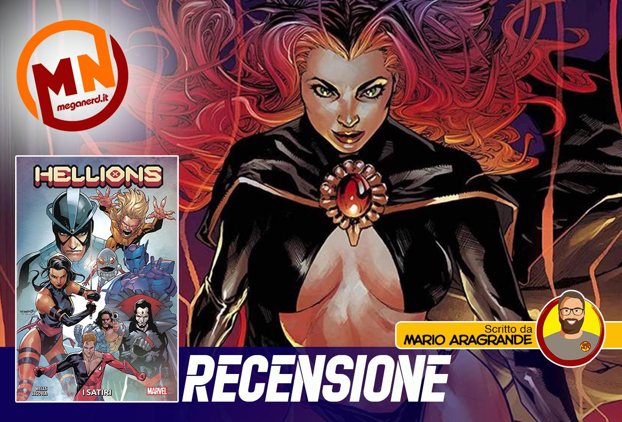 Hellions vol. 1 – Debutta il team dei mutanti senza speranza di redenzione