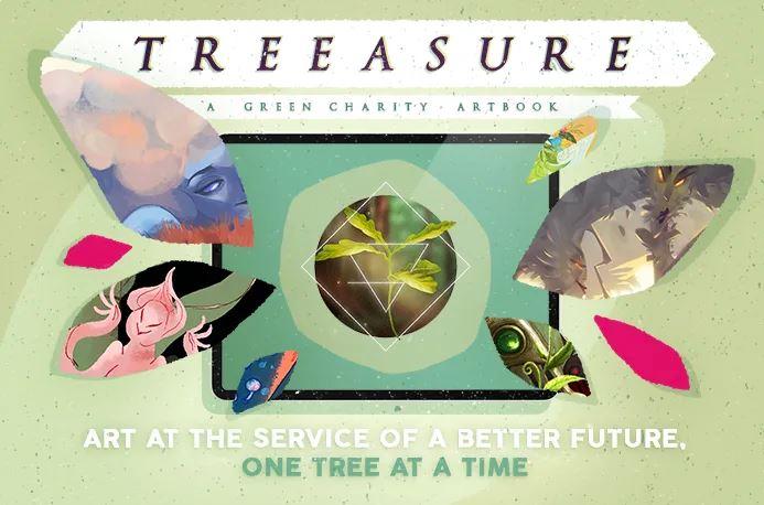 Treeasure – Un artbook per un futuro migliore