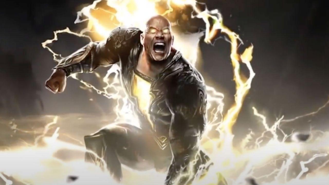 Black Adam – The Rock annuncia la data d'uscita da Times Square