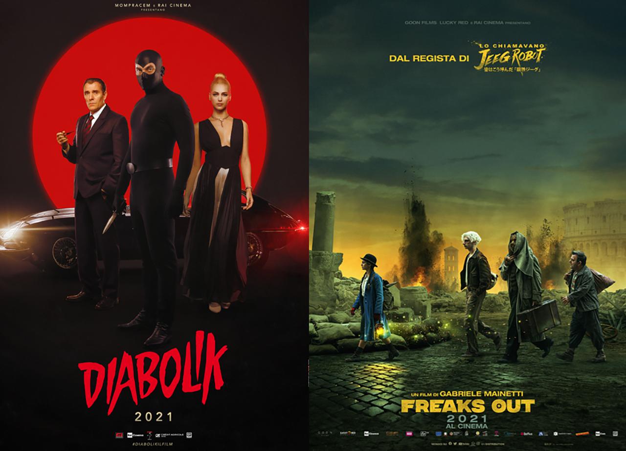 Rai annuncia le date d'uscita di Diabolik e Freaks Out