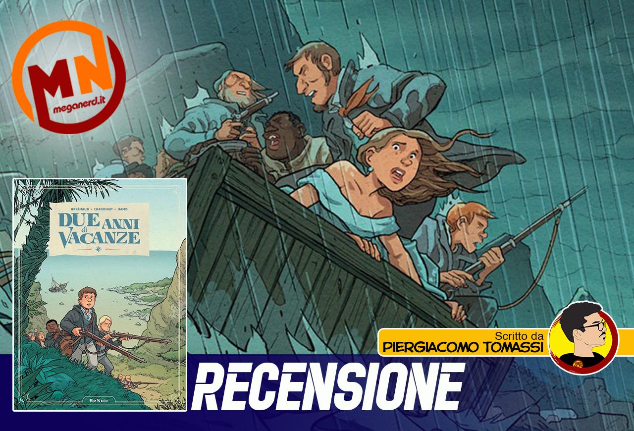 Due anni di vacanze – L'adattamento a fumetti del romanzo di Jules Verne