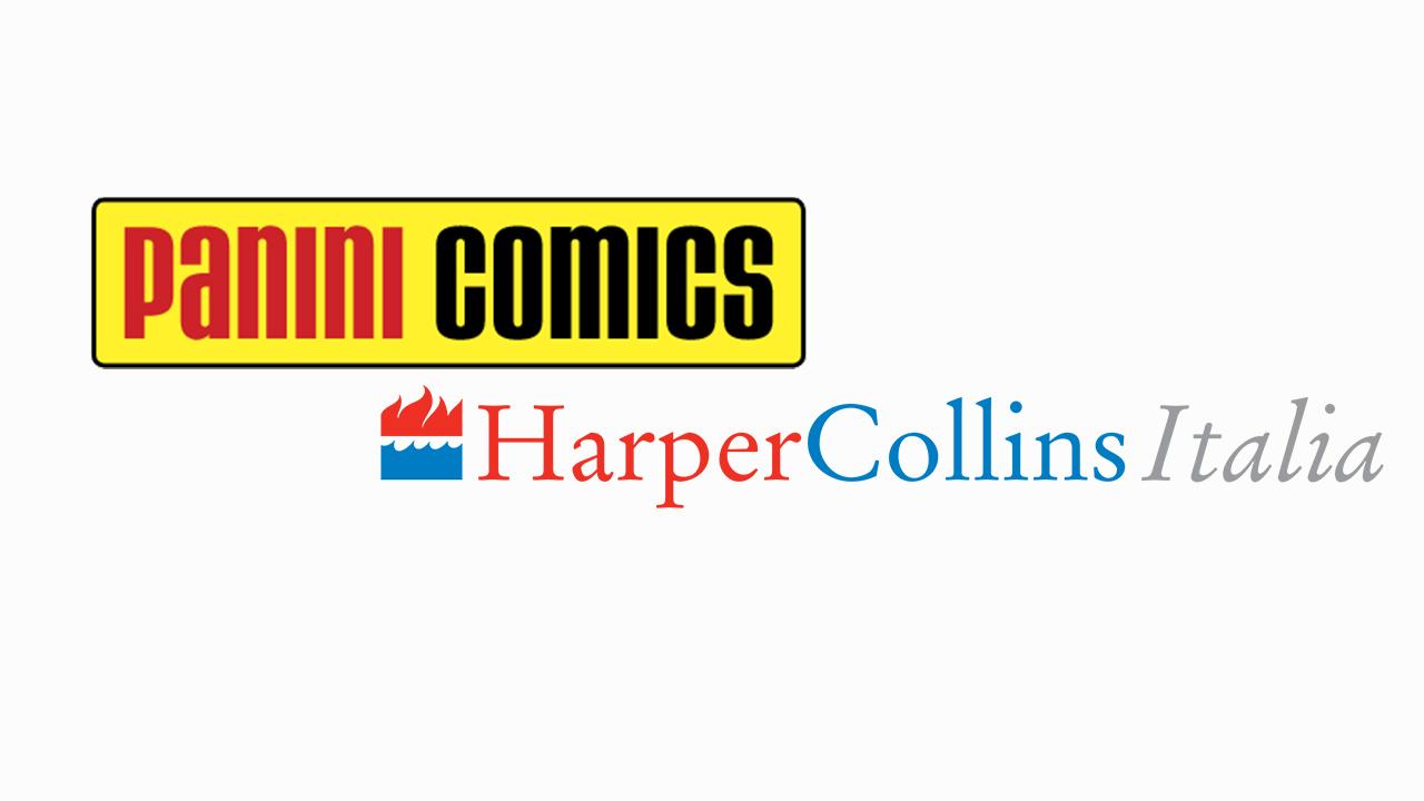 Panini e HarperCollins Italia annunciano la nascita di un nuovo universo narrativo