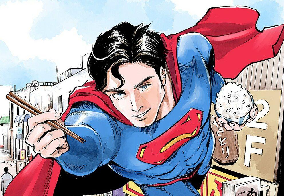 Superman vs. Meshi – L'Uomo d'Acciaio protagonista di un 'gourmet manga'
