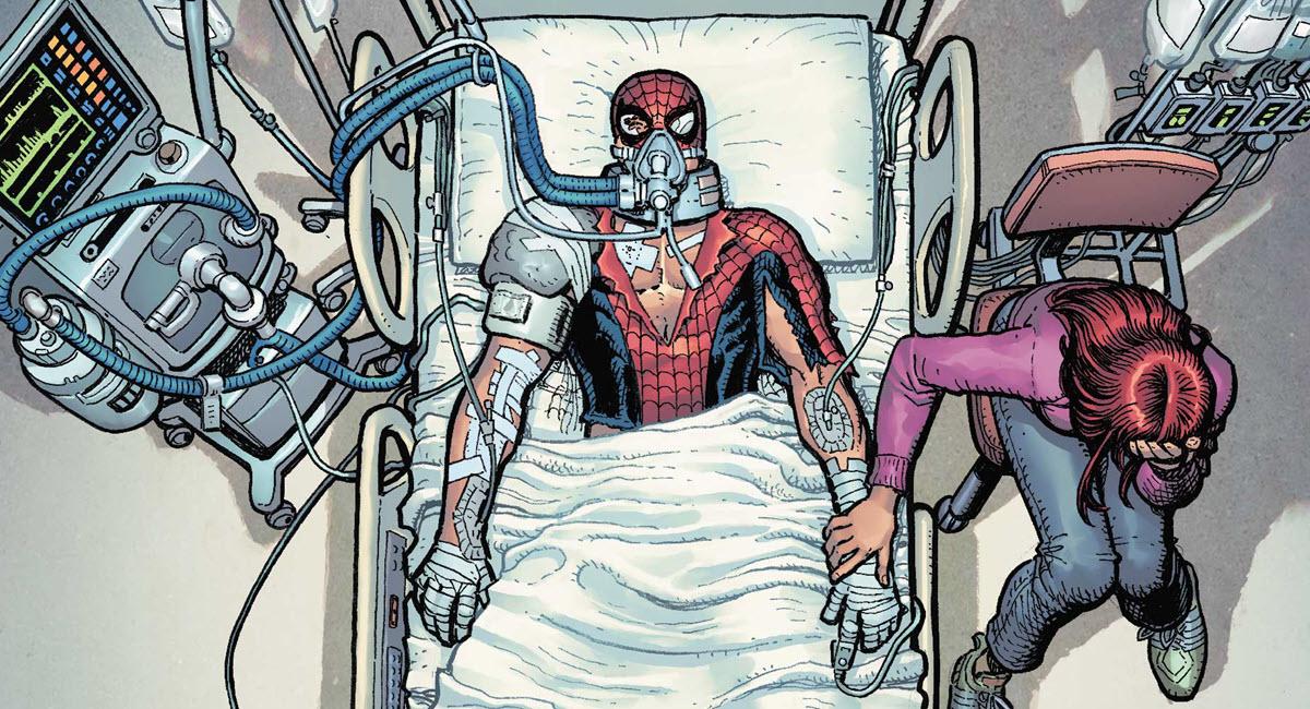 Spider-Man – Nel nuovo corso Peter Parker è in fin di vita?