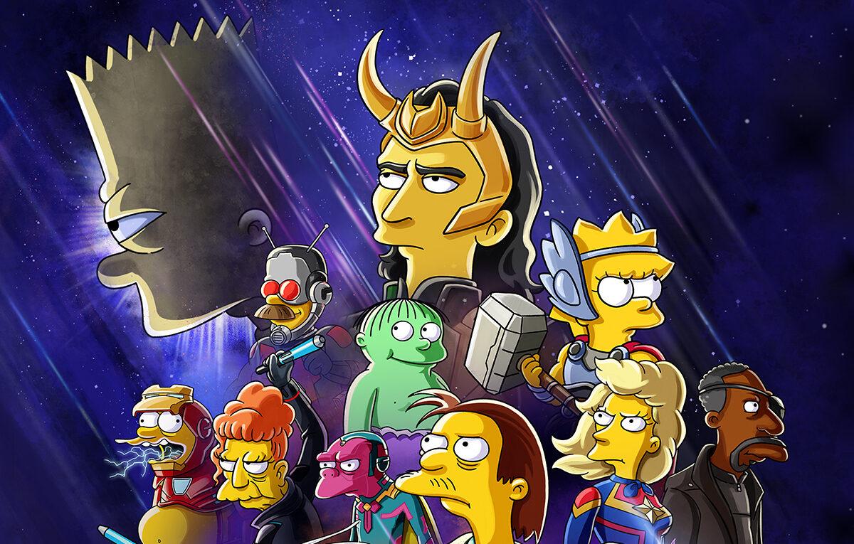 Disney+ annuncia un corto animato con I Simpson e Loki