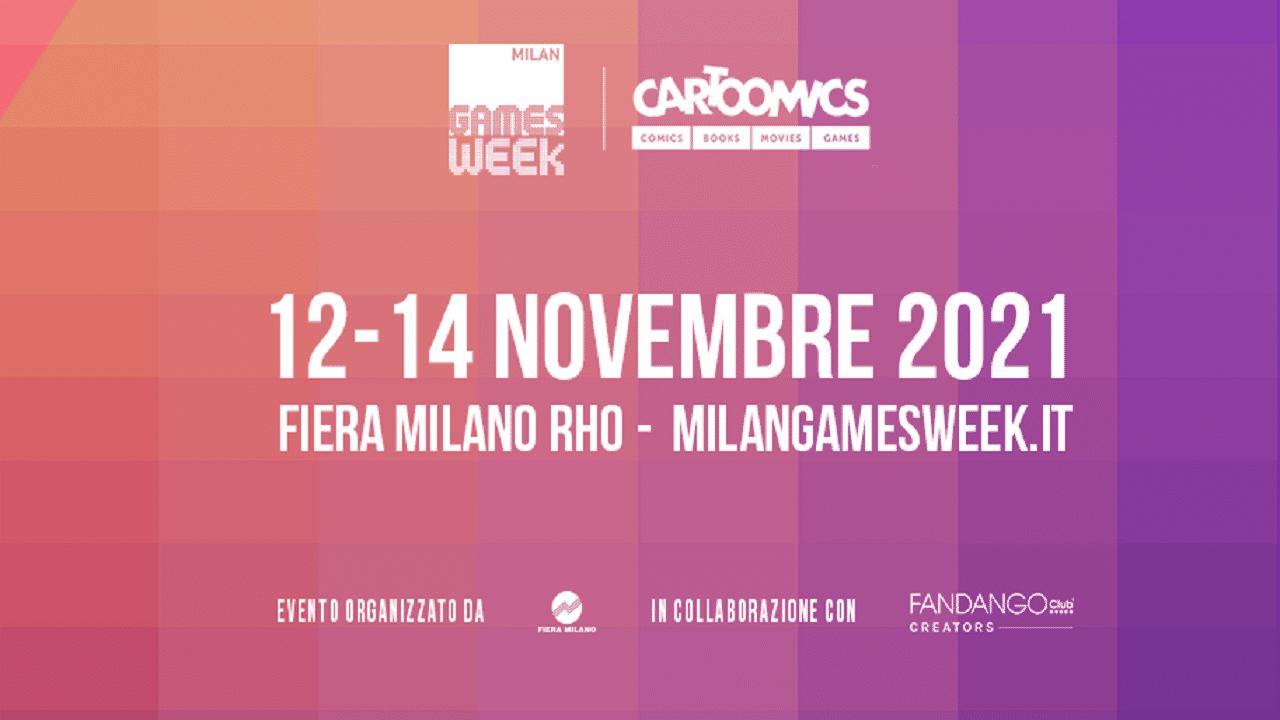Cartoomics e Milan Games Week: ecco le date del 2021