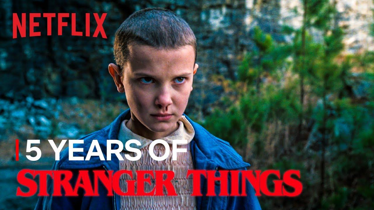 Stranger Things – Il video celebrativo per i 5 anni della serie