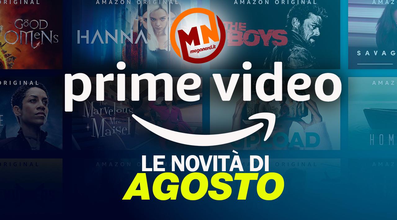 Amazon Prime Video – Tutte le novità di agosto 2021