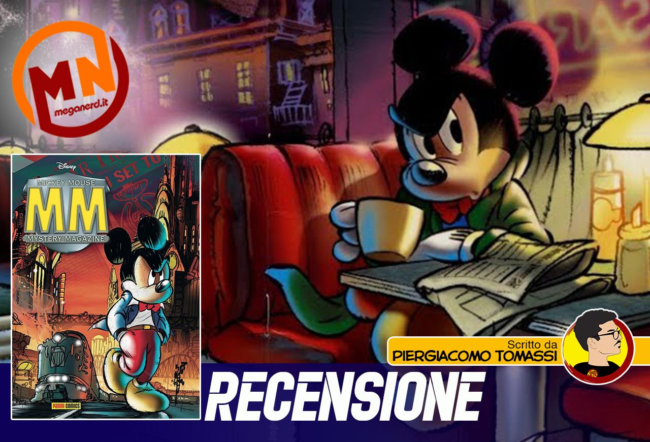 Mickey Mouse Mystery Magazine 1, il Topolino più noir