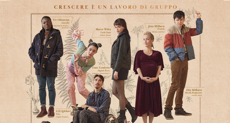 Sex Education – I character poster della terza stagione