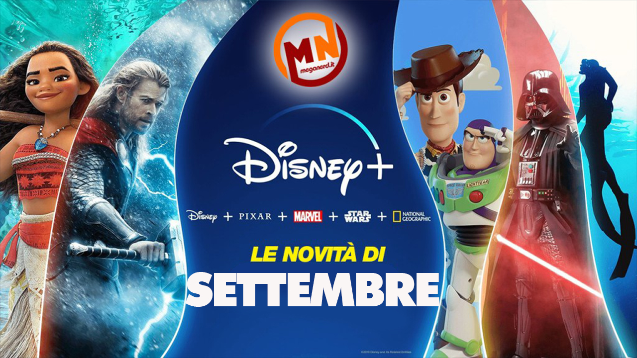 Disney+ – Tutte le novità di settembre