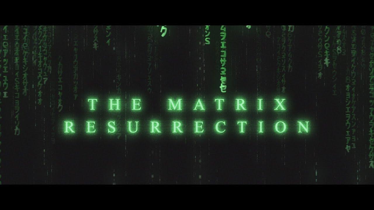 Matrix Resurrection – Anteprima del trailer e prime immagini ufficiali